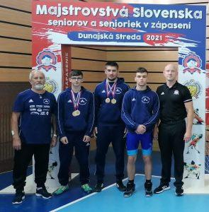 Štyri medaily z MSR seniorov!!